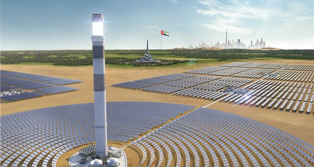 Dewa set to commission world's tallest CSP tower in September.