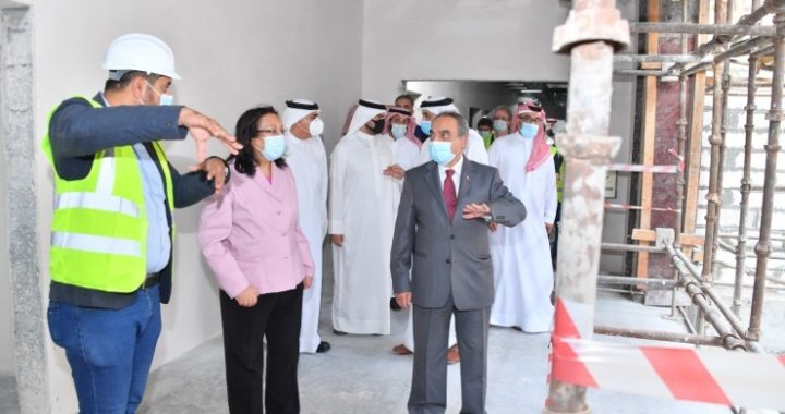 Work is progressing on Bahrain's key healthcare projects.